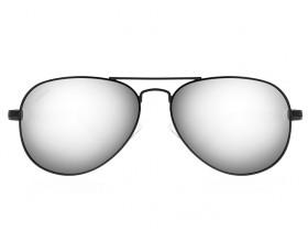 Gafas de sol en fibra de carbono Aviador M3