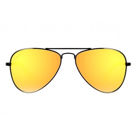 Gafas de sol Aviador para ninos naranjas