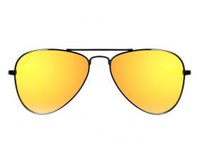 Lunettes de soleil Aviateur enfants orange