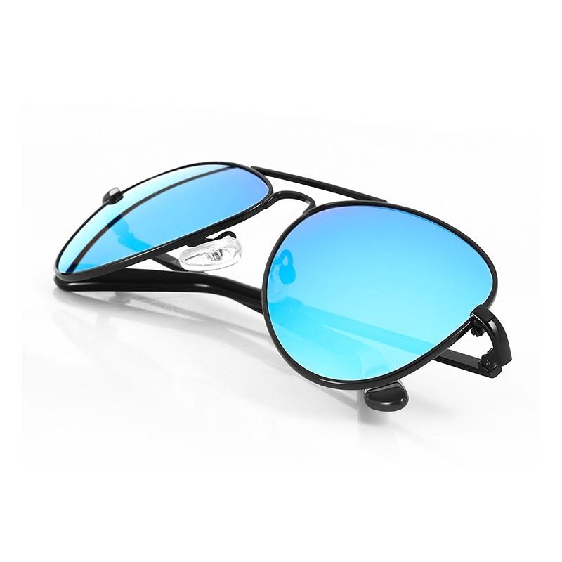 b7d791d8c8ae2 Gafas De Sol Estilo Aviador Con Lentes Azules 0rb4211 De