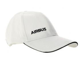 White Airbus cap