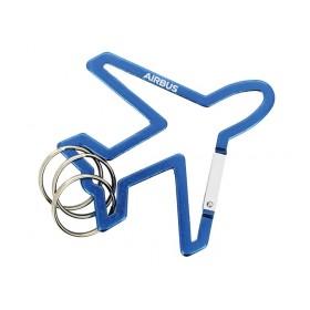 Aircraft shape carabiner