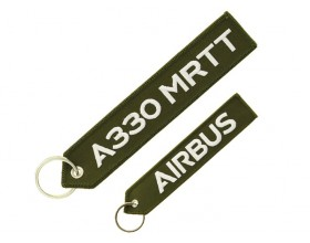 "Porte clés A330MRTT ""remove before flight"""