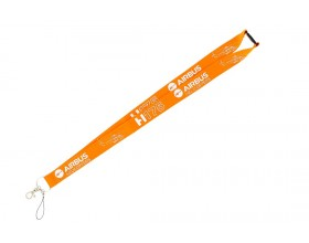 Badge holder - H175 - Wide orange lanyard - Airbus Helicopters