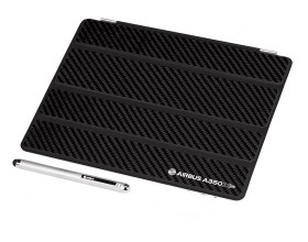 Carbon fiber Ipad cover set
