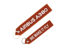 "A380 Airbus ""We Make It Fly"" key ring"