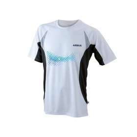 "Men's Airbus running shirt ""TOPCOOL"""