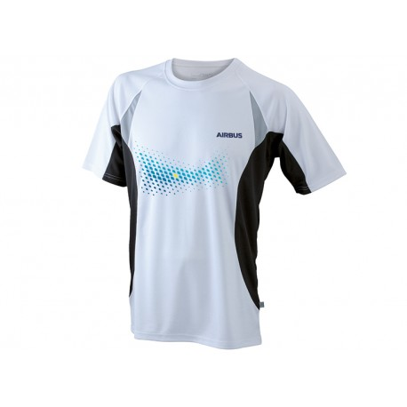 "Airbus running shirt ""TOPCOOL"" for men"
