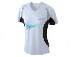 "Tee shirt de sport Airbus ""TOPCOOL"" pour femme"