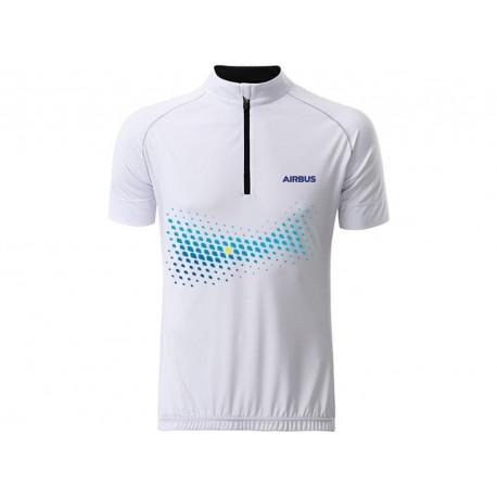 Cycling T-shirt Airbus for men