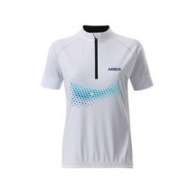 Women's cycling T-shirt Airbus