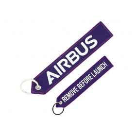 "Llavero Airbus ""remove before launch"""