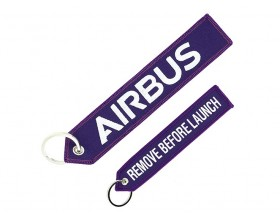 "Porte-clés Airbus ""Remove before launch"""
