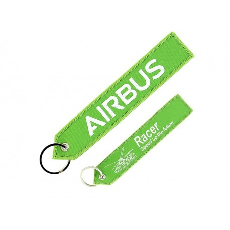 "Porte-clés Airbus ""Remove before flight"" RACER"