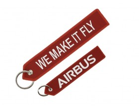"Airbus Schlüsselanhänger ""We make it Fly"""