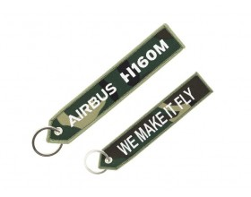 "H160M Airbus ""we make it fly"" key ring"