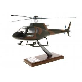Modelo H125 entregado militar caqui a escala 1: 30