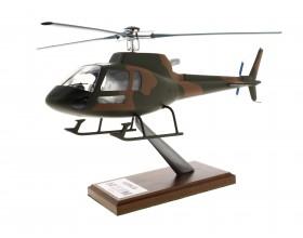 Modell H125M geliefert militärischen khaki Maßstab 1: 30