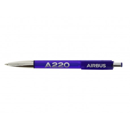 A220 plastic and metal ball pen