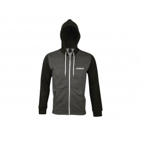 "Airbus Hooded zipped Jacket ""We Make It Fly"""