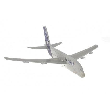 Avión A380 con lanzador