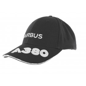 A380 Airbus cap anthracite grey