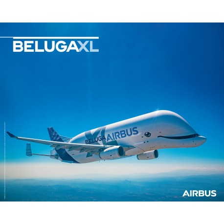 Poster BELUGAXL vue en vol