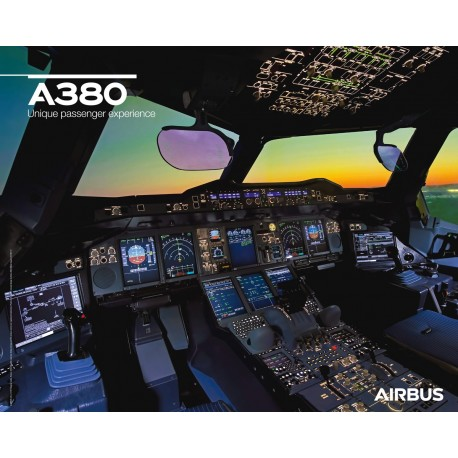 A380 poster cockpit view