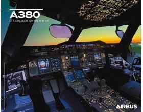 Poster A380 vue du cockpit