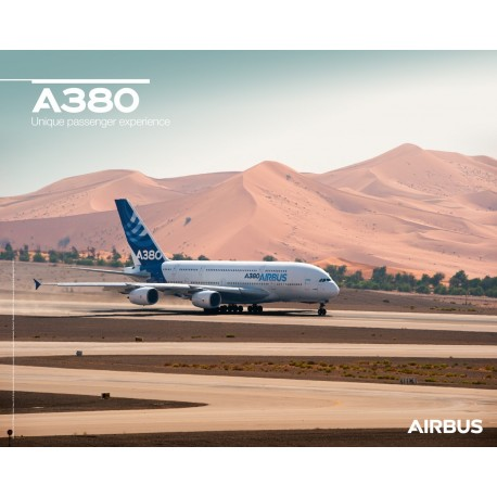 A380 poster ground view