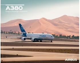 Póster A380 vista al suelo