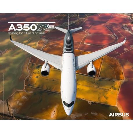 Poster A350XWB Vorderansicht