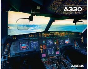 Poster A330neo vue du cockpit