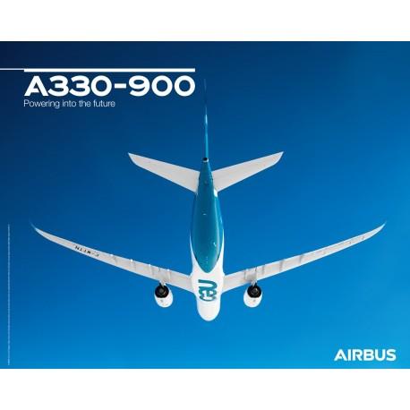 A330 900 poster flight view