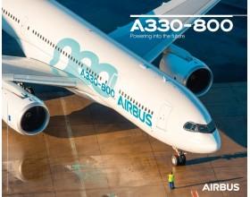 Póster A330neo vista al suelo
