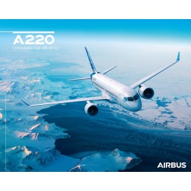 A220 poster sky view