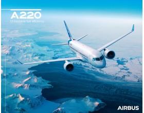 Poster A220 Luftaufnahme