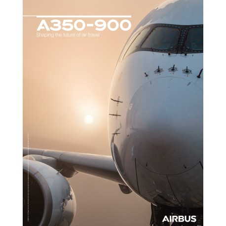 A350 900 poster front view