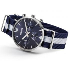 Reloj azul Airbus Montmartre