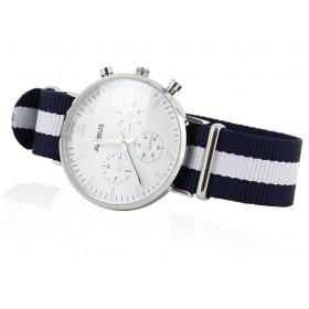 Reloj blanco Airbus Montmartre