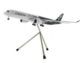 Modelo A350 XWB carbon escala 1:200