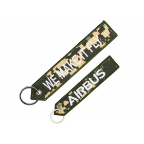 "Military Airbus ""We make it fly"" key ring"