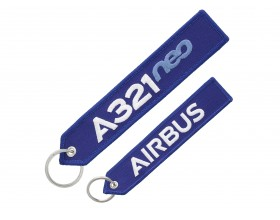 A321neo key ring