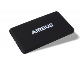 AIRBUS Solar recycled power bank charge
