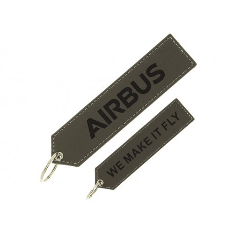 "Executive Airbus ""We make it fly"" key ring"