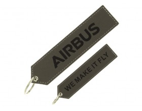 "Porte clés VIP Airbus ""We make it fly"""