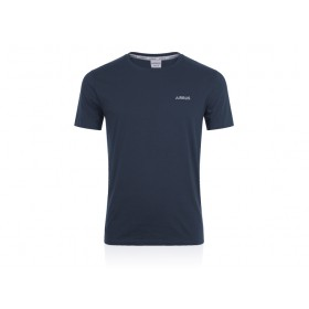 T-shirt homme coton bio AIRBUS bleu