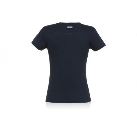 Blaues T-Shirt der AIRBUS-Damen