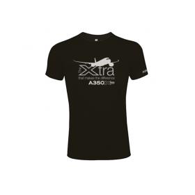 """Tee shirt coton bio A350 XWB """"Xtra"""""""