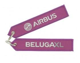 "Beluga XL ""remove before flight"" key ring"